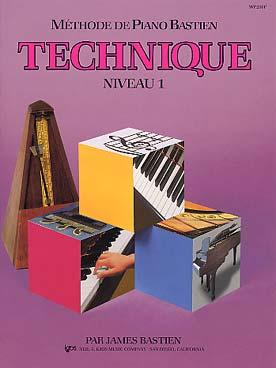PIANO BASTIEN TECHNIQUE VOL 1