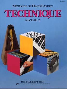 PIANO BASTIEN TECHNIQUE VOL 2
