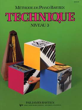 PIANO BASTIEN TECHNIQUE VOL 3