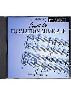 CD COURS DE FORMATION MUSICALE VOLUME 1