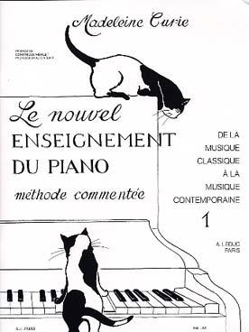 LE NOUVEL ENSEIGNEMENT DU PIANO VOL 1