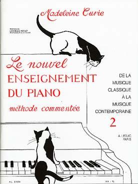 LE NOUVEL ENSEIGNEMENT DU PIANO VOL 2