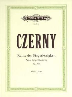 CZERNY L\'ART DE DELIER LES DOIGTS
