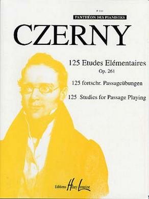 CZERNY 125 ETUDES ELEMENTAIRES