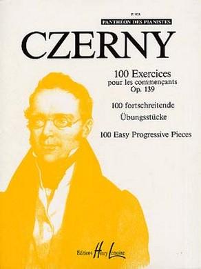 CZERNY 100 EXERCICES COMMENCANTS