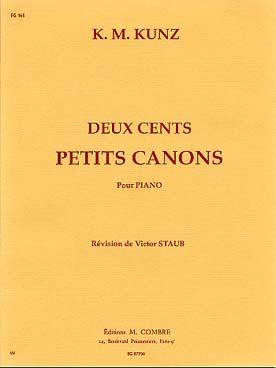 DEUX CENTS PETITS CANONS