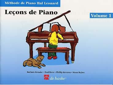 METHODE DE PIANO HAL LEONARD LECON VOL 1