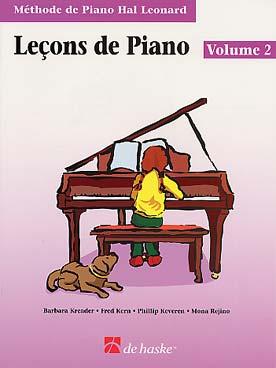 METHODE DE PIANO HAL LEONARD LECON VOL 2