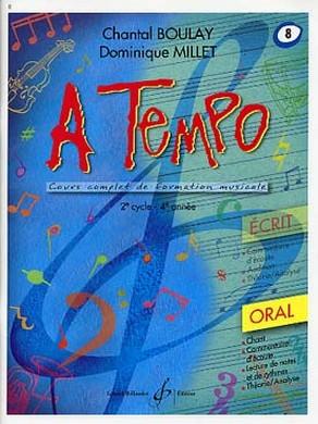 A TEMPO VOLUME 8 ORAL