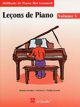 METHODE DE PIANO HAL LEONARD LECON VOL 5