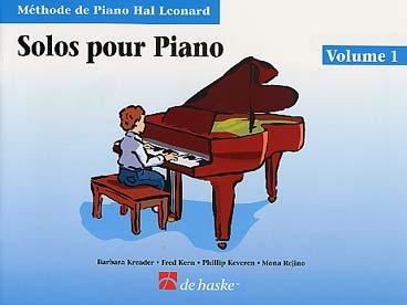 METHODE DE PIANO HAL LEONARD SOLOS VOL 1