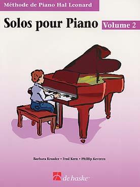METHODE DE PIANO HAL LEONARD SOLOS VOL 2 + CD