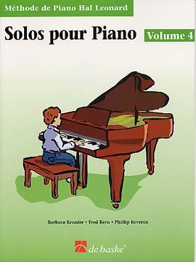 METHODE DE PIANO HAL LEONARD SOLOS VOL 4