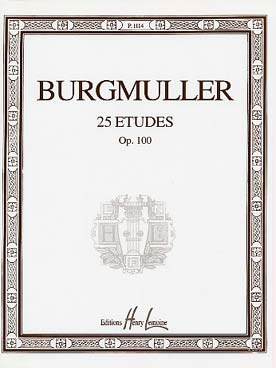 25 ETUDES OP 100 BURGMULLER