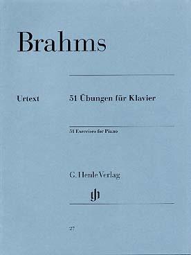 51 EXERCICES DE BRAHMS