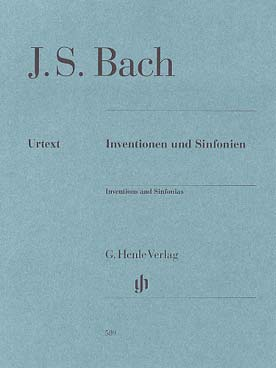 BACH INVENTIONS A 2 ET 3 VOIX BWV 772-801