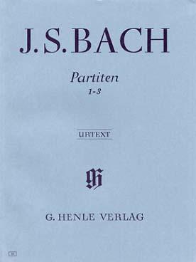 BACH PARTITIA 1-3 BWV 825-827