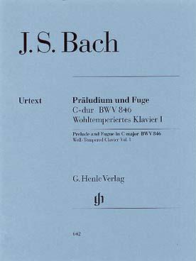 BACH PRELUDE ET FUGUE BWV 846 DO MAJ