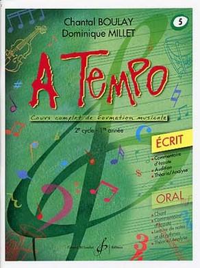 A TEMPO VOLUME 5 ECRIT