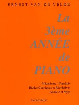 LA 3ème ANNEE DE PIANO