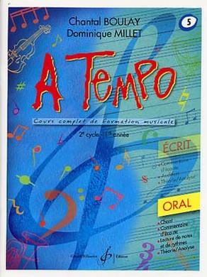 A TEMPO VOLUME 5 ORAL