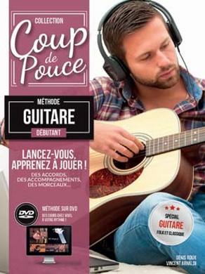COUP DE POUCE GUITARE ACOUSTIQUE 1 DVD