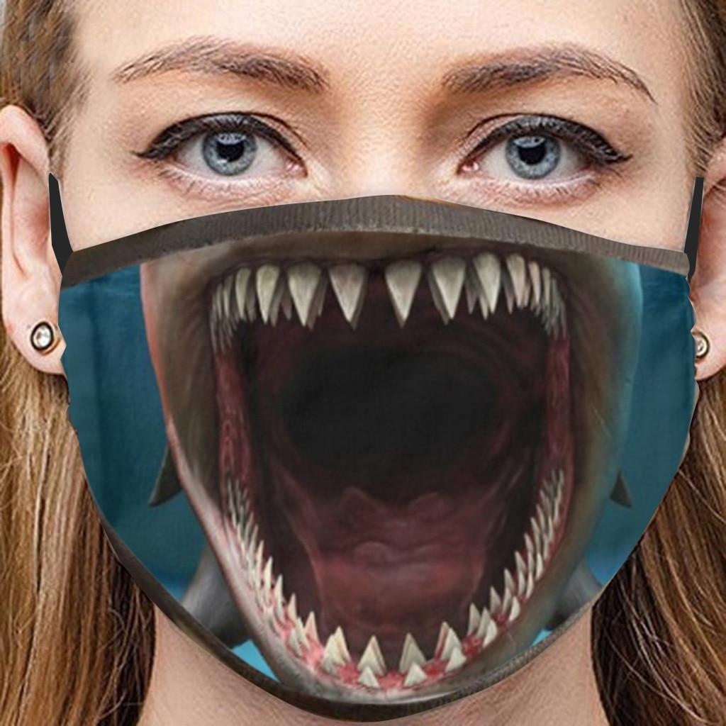 Masques de protection humoristiques en 3 D collection Alien