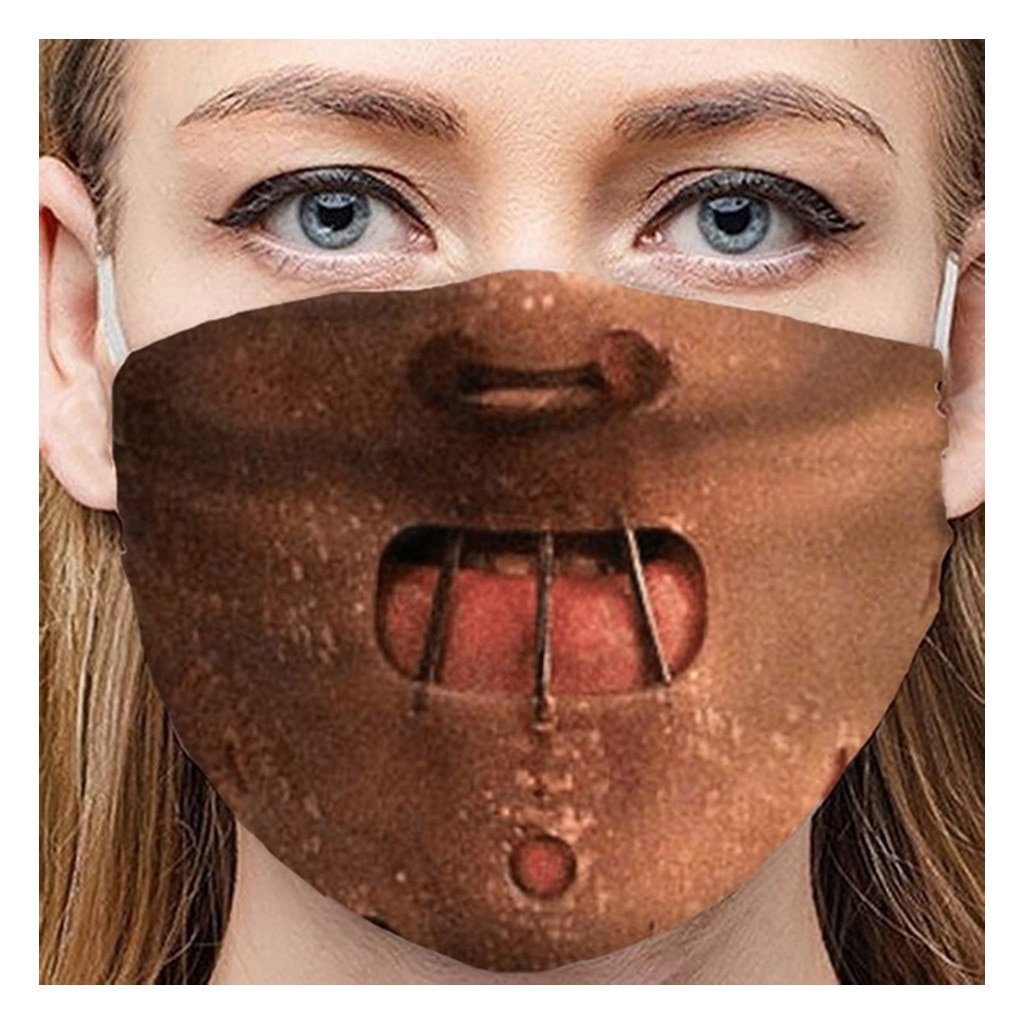 Masque de protection collection Hannibal Lecter.
