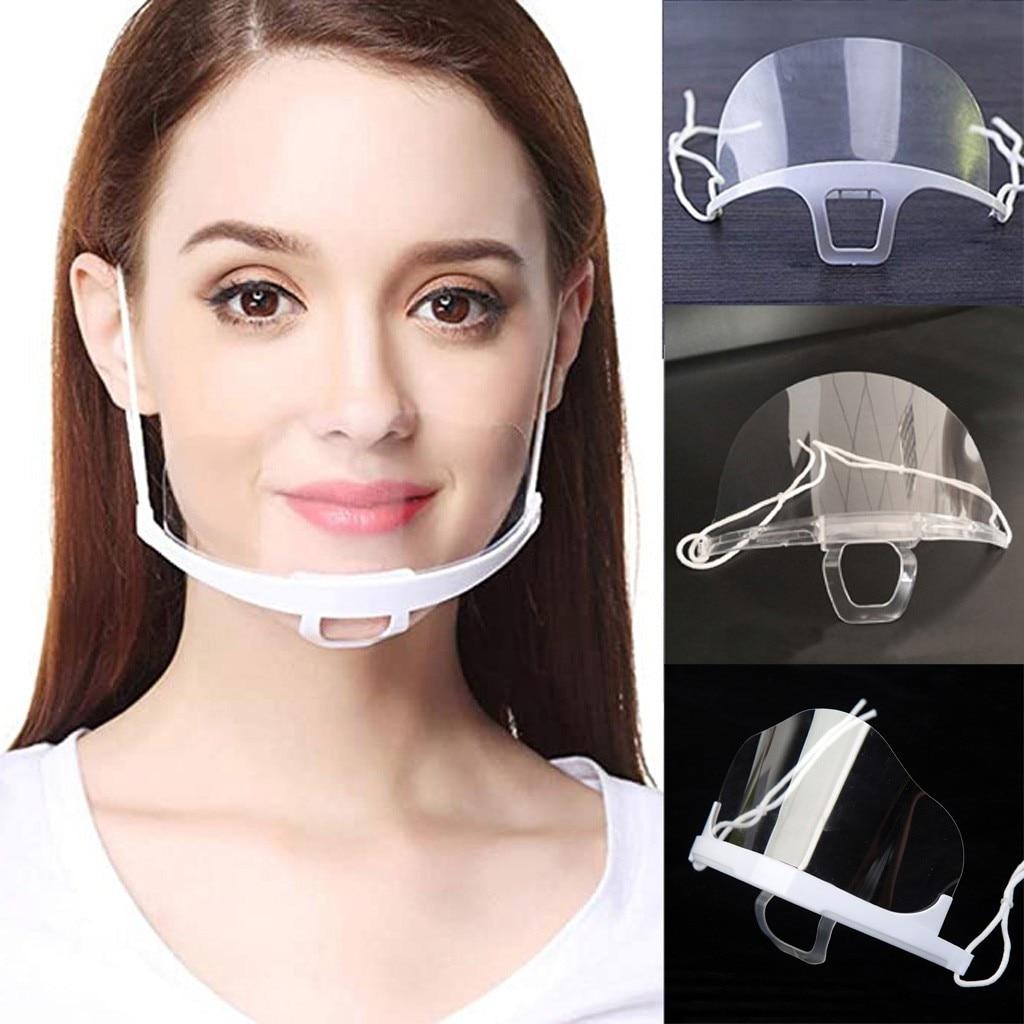 Masque de protection adulte unisexe pour serveur ou hôtesse d'accueil.
