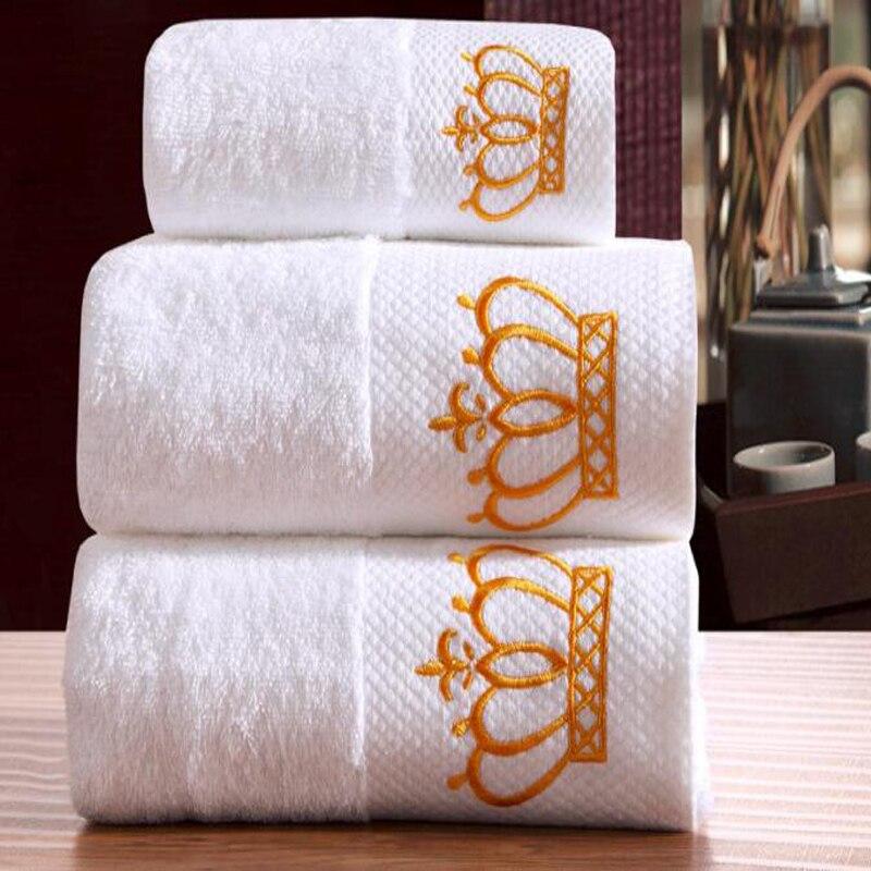 Serviette-blanche-100-coton-m-MRS-pour-le-visage-serviette-de-plage-3-pi-ces-pour