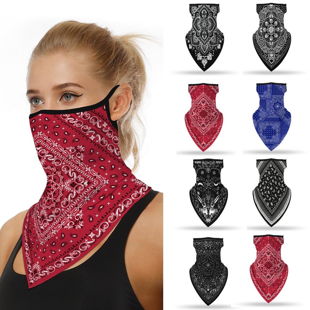 Masque foulard hiver double fonction.