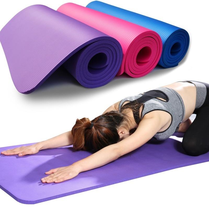Tapis de anti-dérapant pour Yoga, gymnastique et Pilates.