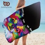Serviettes-de-bain-pour-chiens-serviettes-de-plage-pour-adultes-color-animaux-en-microfibre-couverture-Pomerani