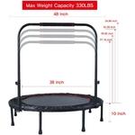 ADKING-Deefielly-Mini-trampoline-pliable-pour-enfants-Rebondeur-de-fitness-48-pour-adulte-avec-poign-e