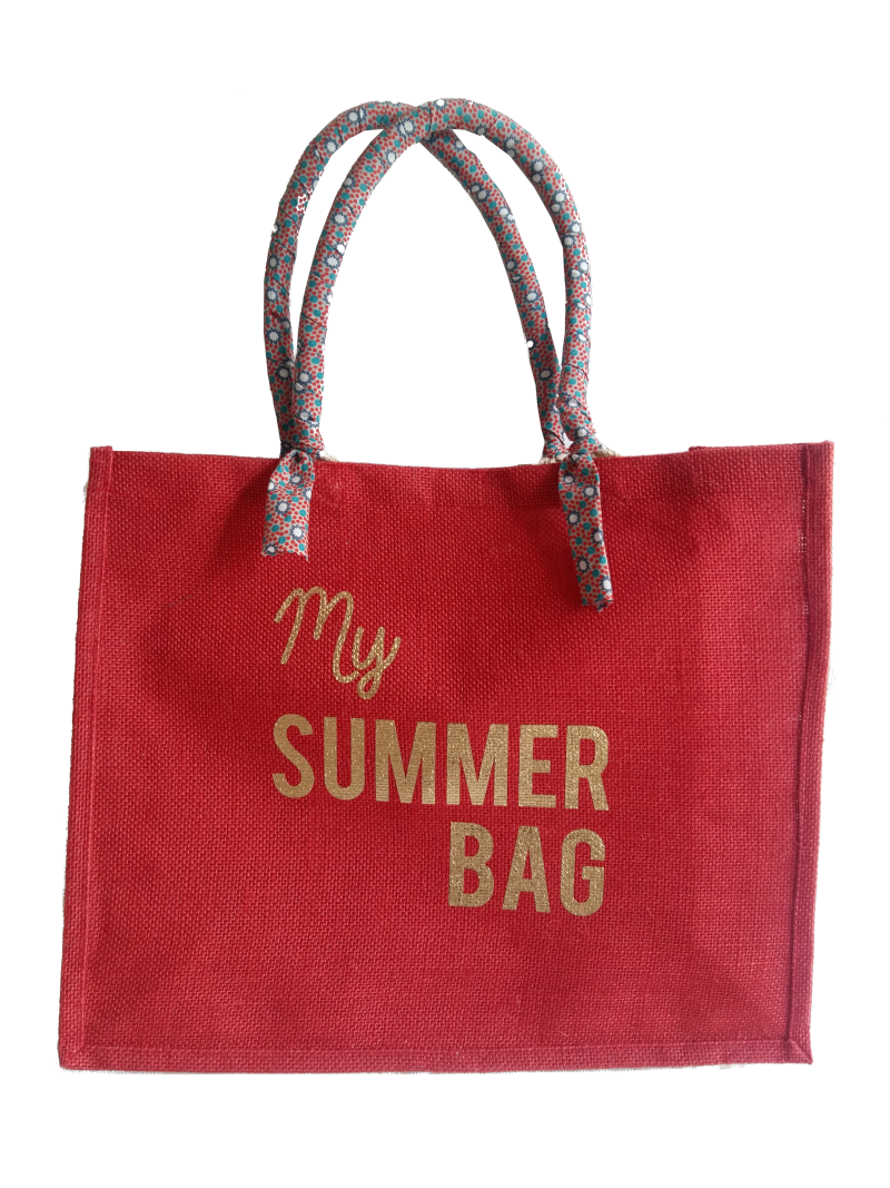 Sac plage personnalisable