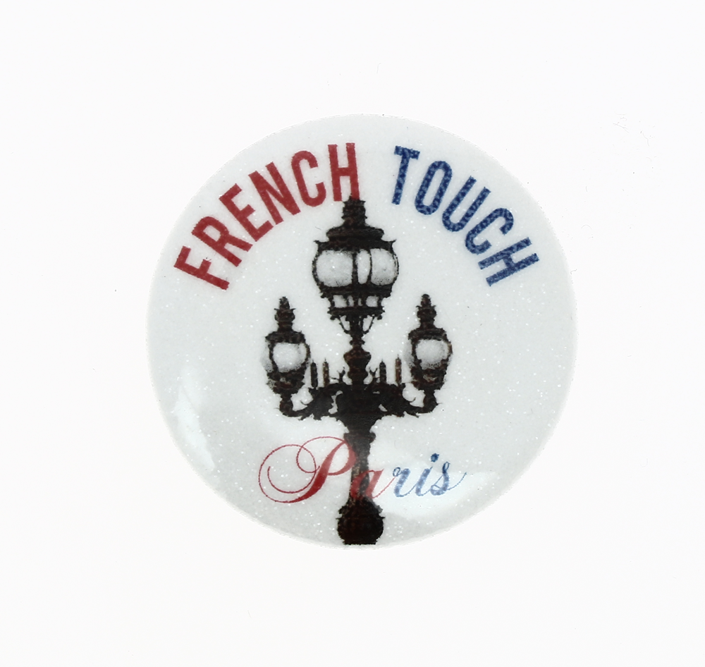 Badge broche 38 mm French Touch