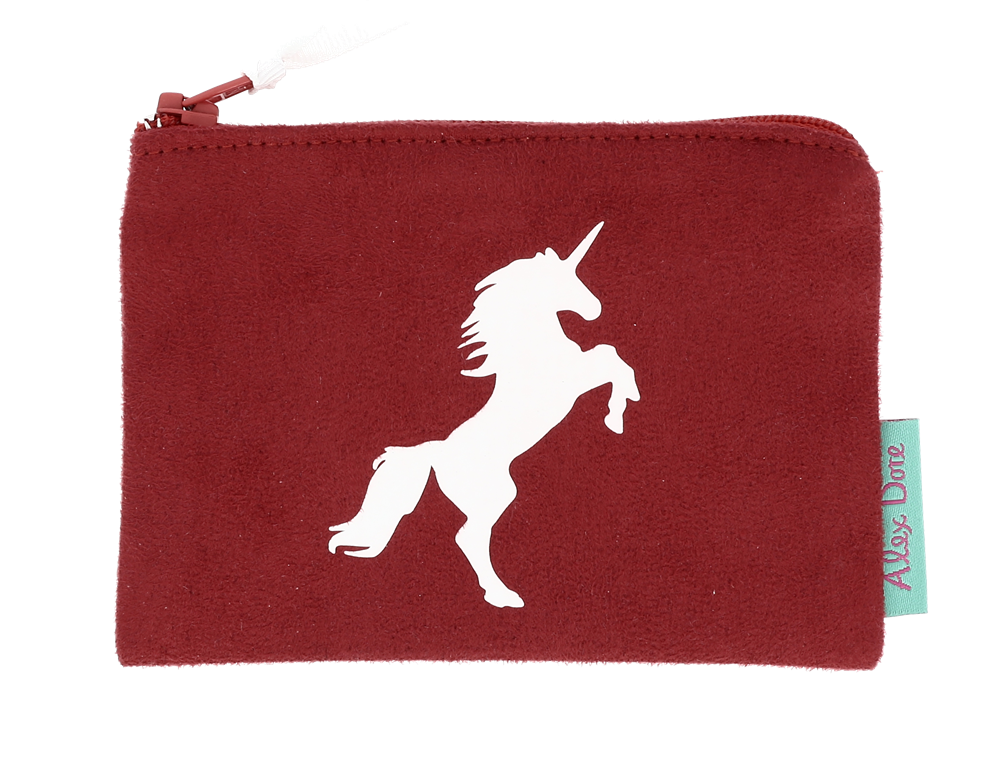 mini sued rouge licorne blc mat10