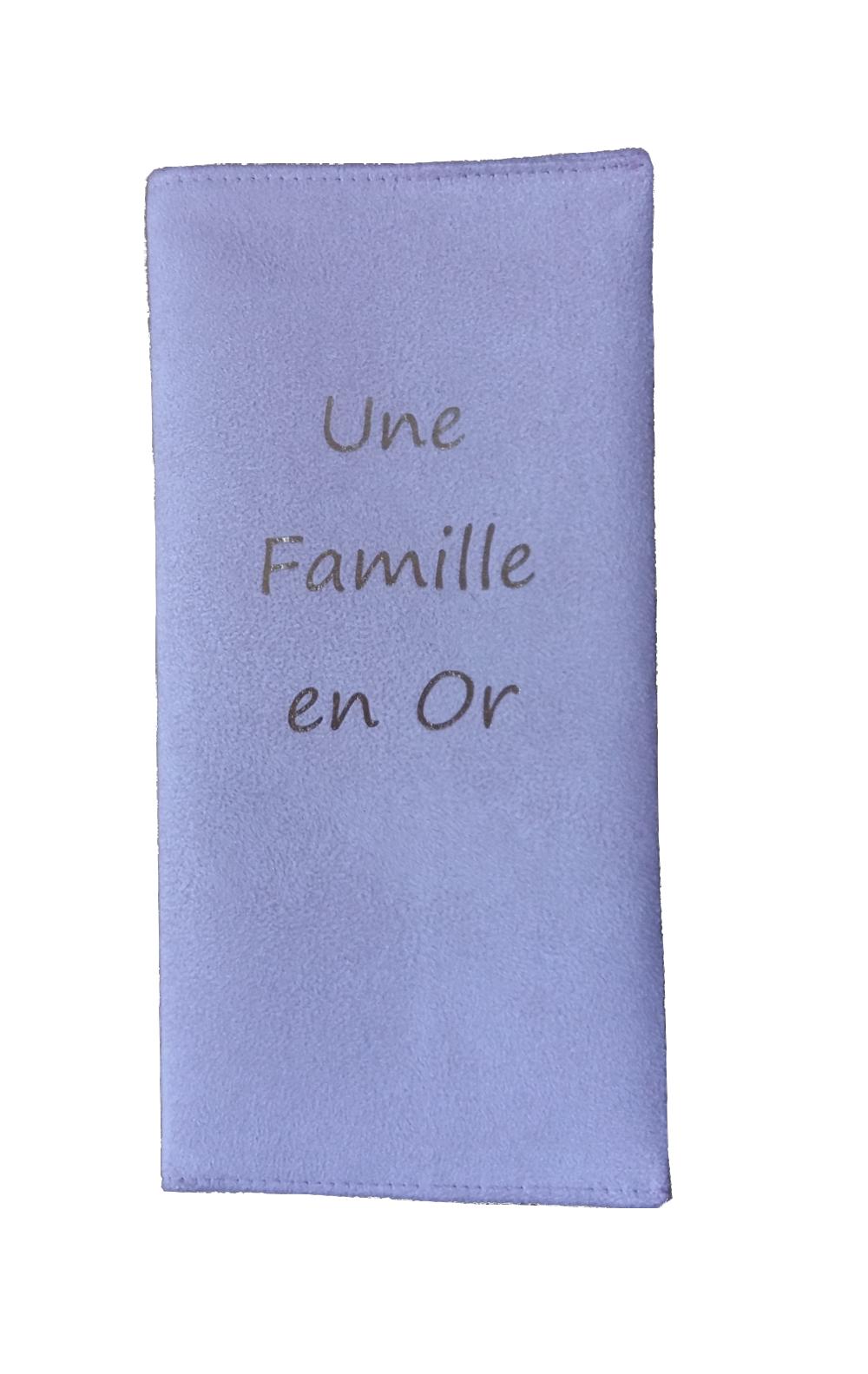 Livret de famille texte PERSONNALISABLE