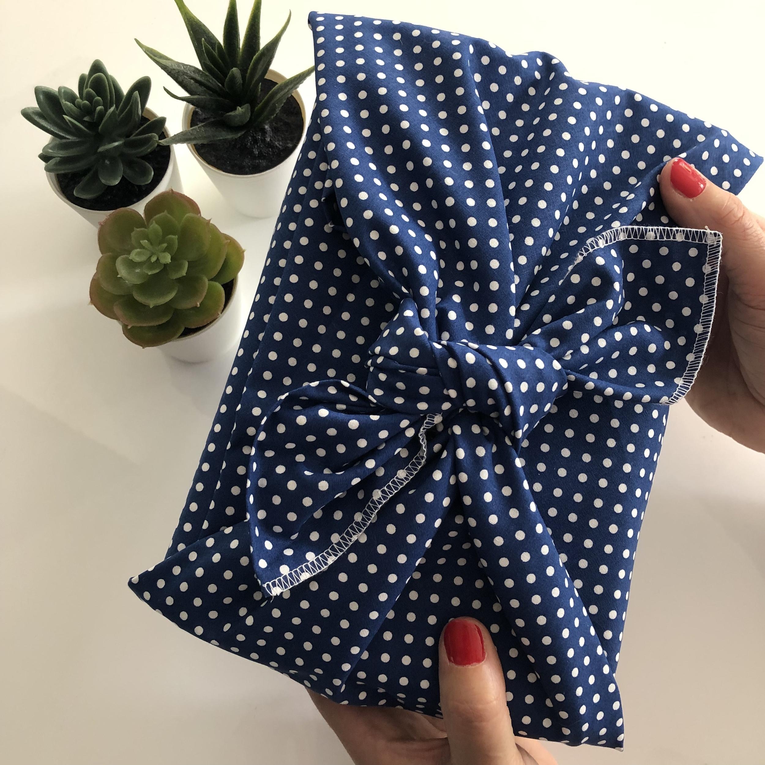 Le Carré Alex Doré - Emballage cadeau réutilisable PERSONNALISABLE