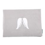 Etui Ipad perle ailes pailleté blanc Alex Doré