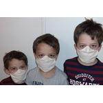 Masque Alex Doré enfant 5-9 ans