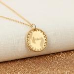 Collier-Amour-medaille-plaque-or-alex-dore-graver-personnalise-cadeau-naissance-mariage-anniversaire-fete-mere-paillettes-glitter
