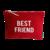 Indispensable coton rouge Best Friend blanc fermée Alrex Doré 1000px