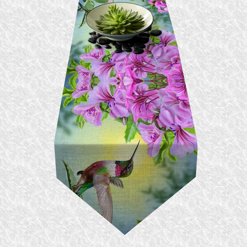 Chemin de table colibri