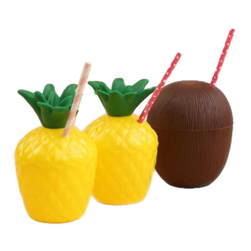 Tasse noix de coco et ananas