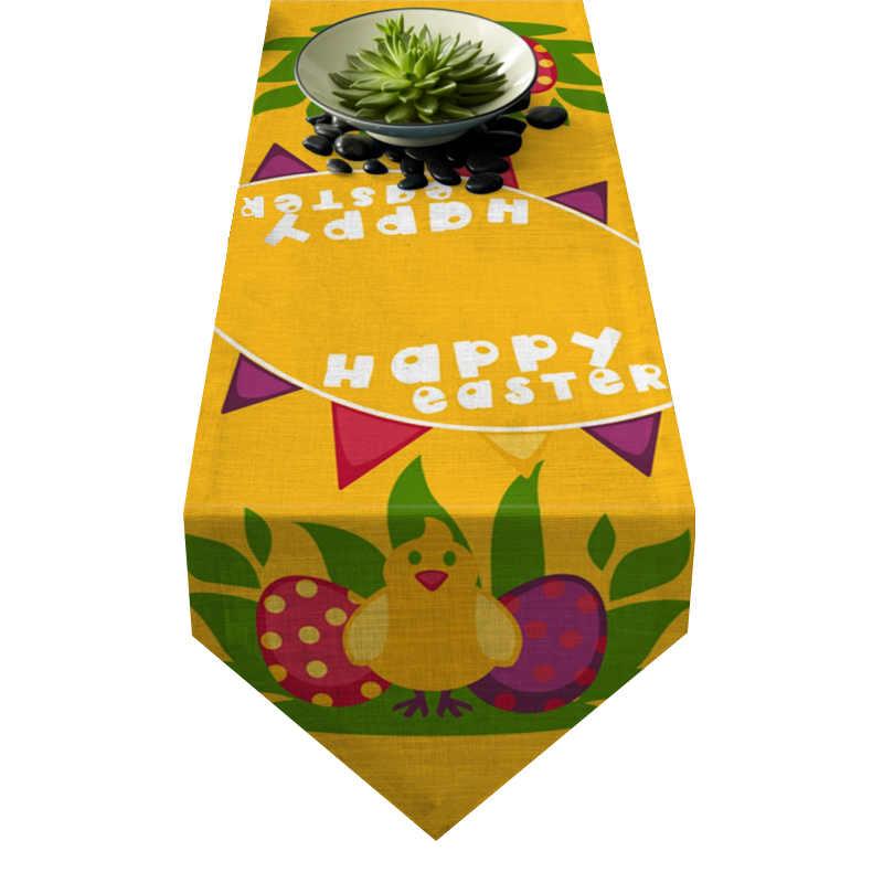 Chemin de table poussin de Pâques