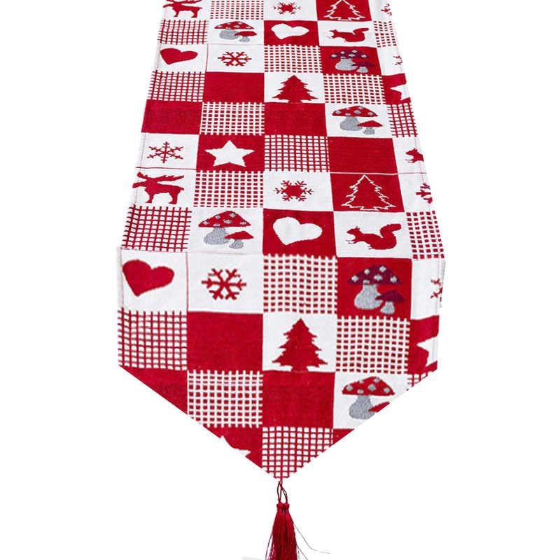 Chemin de table Noël patchwork