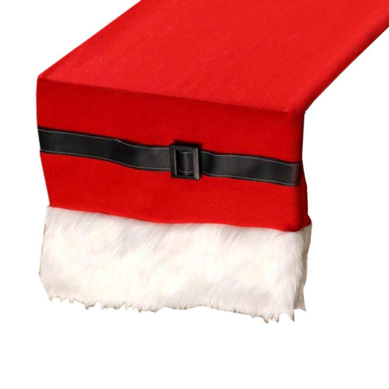 Chemin de table ceinture Père Noël