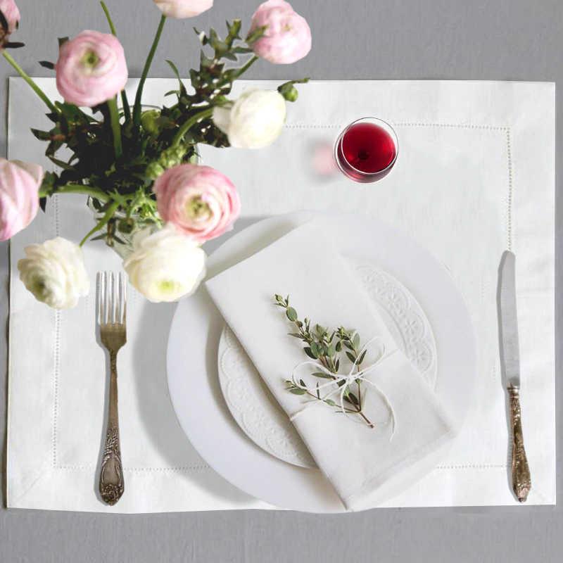 conseils de présentation d'une serviette de table en coton pour un mariage