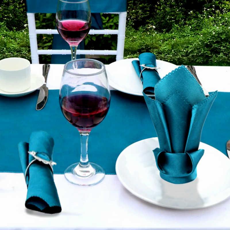Idées de présentation de serviettes de table pour un mariage